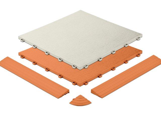 Kunststoffplatte Typ ELEGANCE