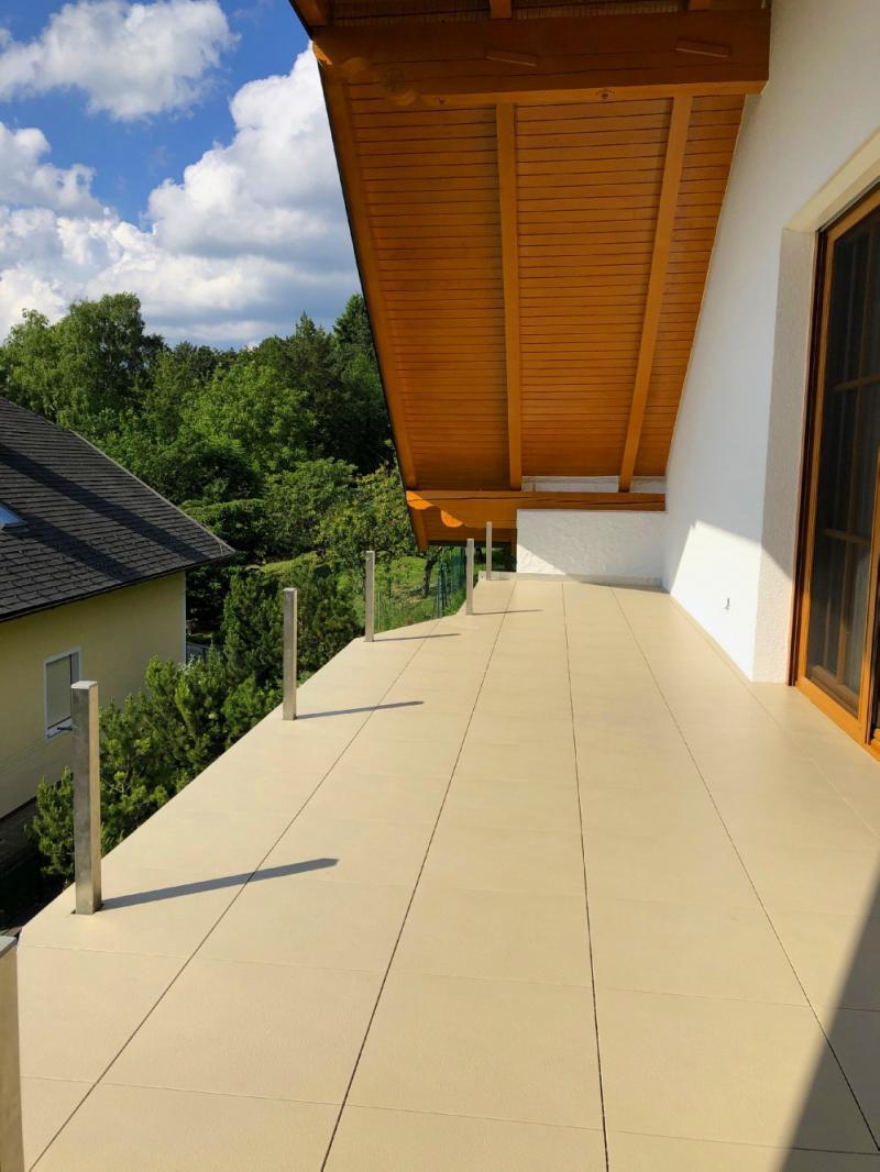 Balkon mit ELITE Fliesen