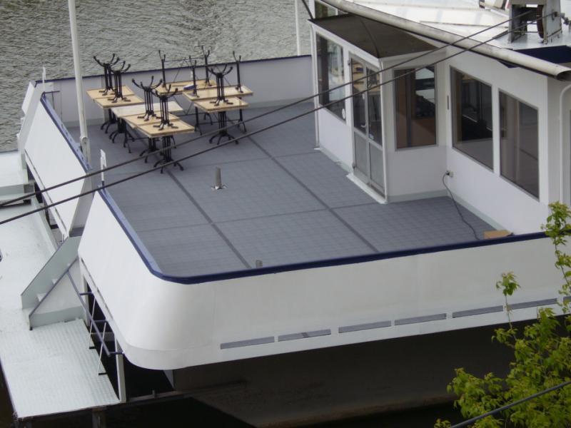 Decksbelag Pfannkuchenschiff