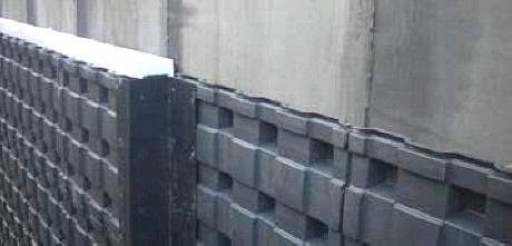 DEFENDER ist der Schutz der Kellerwand