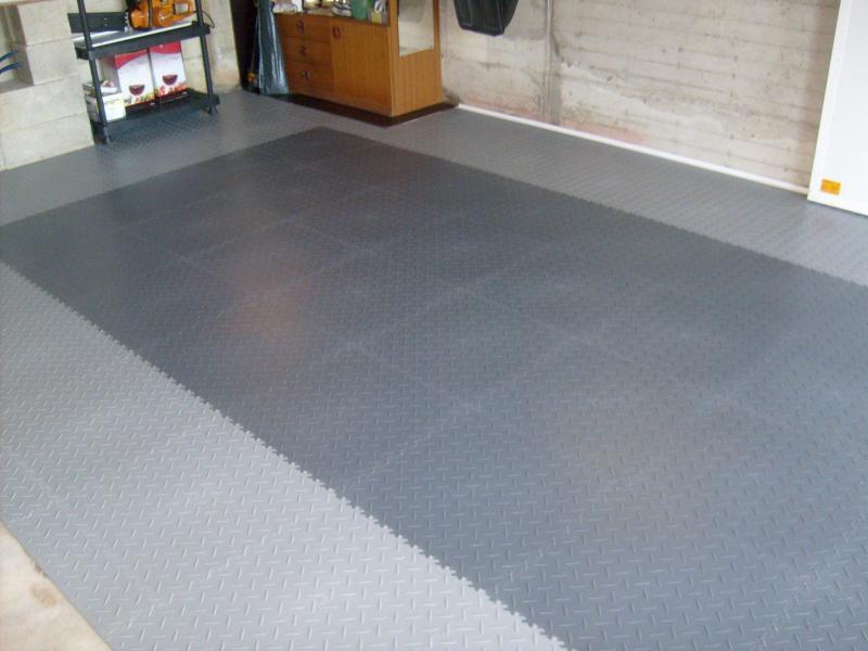 PVC-Garagen-Fliesen Diamant
